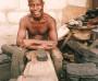 Schuhmacher in Accra